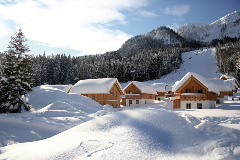 AlpenParks Hagan Lodge Altaussee im Winter