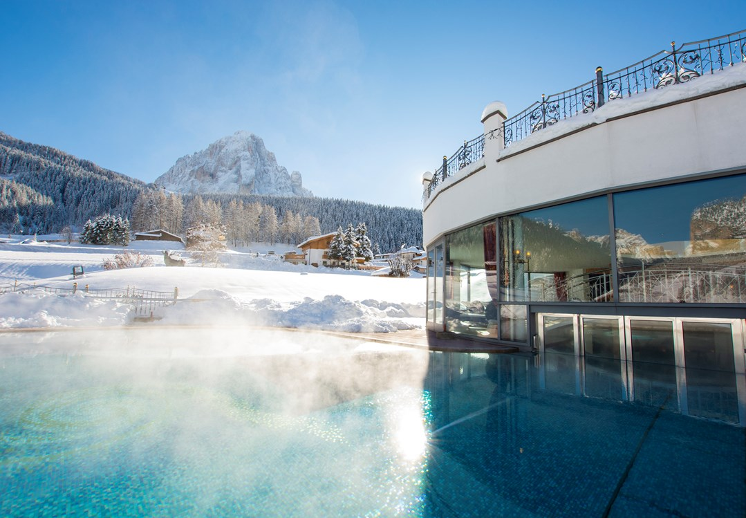 Skihotel: INDOOR & OUTDOOR POOL - Granvara Relais & SPA Hotel****S
