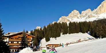 Hotels an der Piste - Skigebiet: IT - Skigebiet Carezza - Hotel Moseralm