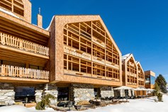 Hotels an der Piste - Verpflegung: Halbpension - Italien - Gourmethotel Tenne Lodges