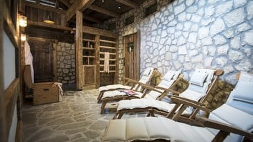 Skihotel: Wellnessbereich - Hotel Post Alpina