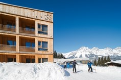 Hotels an der Piste - Pools: Außenpool beheizt - Wilder Kaiser - Tirol Lodge Ellmau