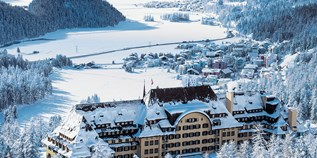 Hotels an der Piste - Pools: Innenpool - Engadin - Hotel Suvretta House
