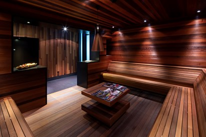 Skihotel: Leseraum Spa - Hotel frutt LODGE & SPA