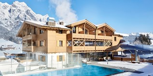 Hotels an der Piste - Pools: Innenpool - Leogang - Good Life Resort die Riederalm ****S