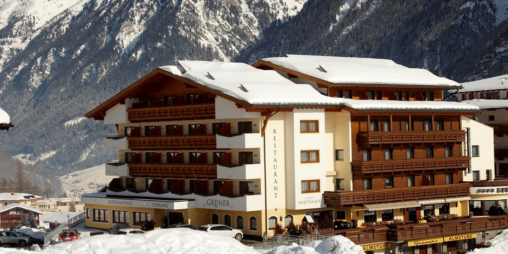 Alpengasthof Gruner Skihotel In Osterreich