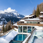Hotels an der Piste: Hotel Goldried