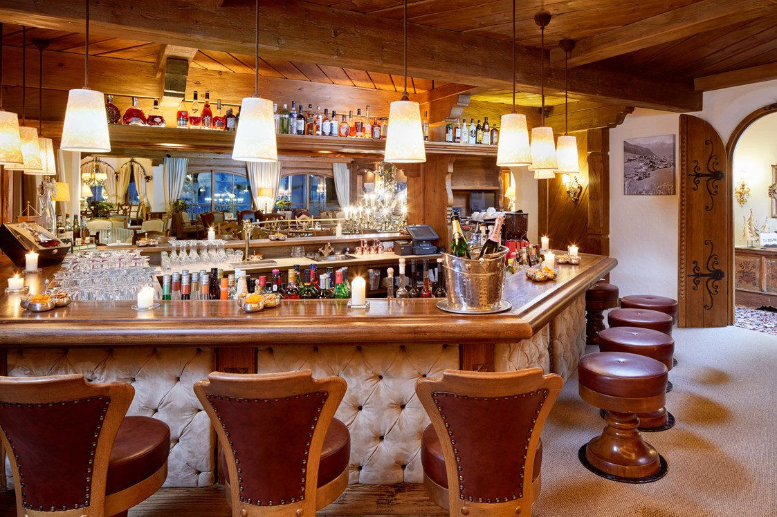 Skihotel: Bar - Hotel Singer - Relais & Châteaux